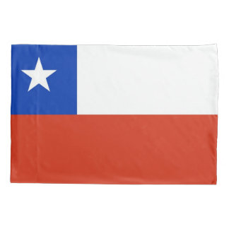 Patriotic Single Pillowcase flag of Chile