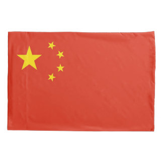 Patriotic Single Pillowcase flag of China