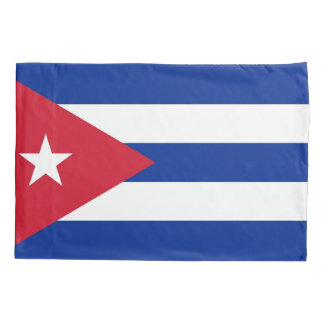 Patriotic Single Pillowcase flag of Cuba