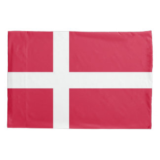 Patriotic Single Pillowcase flag of Denmark