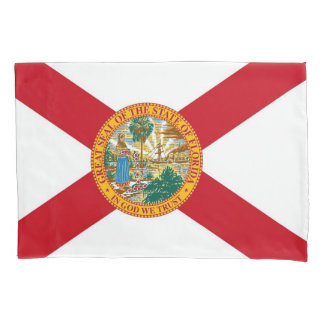 Patriotic Single Pillowcase flag of Florida