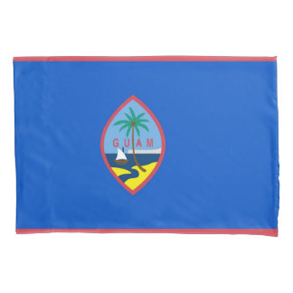 Patriotic Single Pillowcase flag of Guam