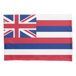 Patriotic Single Pillowcase flag of Hawaii, USA