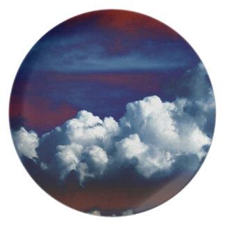 Patriotic Sky by KLM Plates