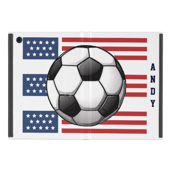 Patriotic Soccer Design iPad Air Case