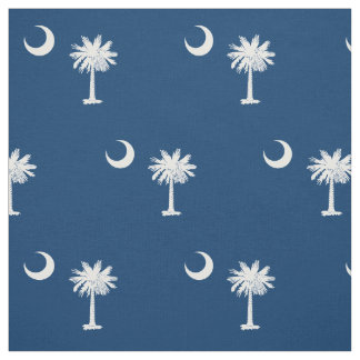 Patriotic South Carolina State Flag Fabric