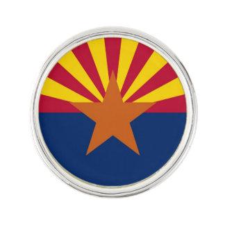 Patriotic, special lapel pin with Flag of Arizona