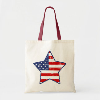 Patriotic Star Tote Bag