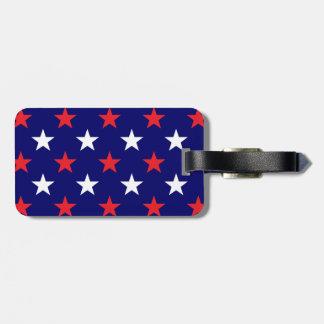 Patriotic Stars 1 Tag For Bags