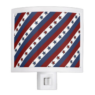 Patriotic Stars and Stripes Nite Lites