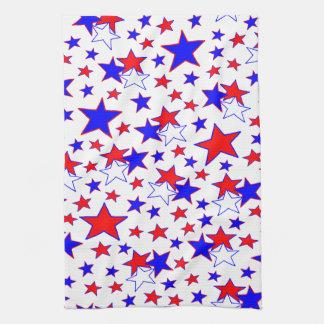 Patriotic Stars Kitchen Towel