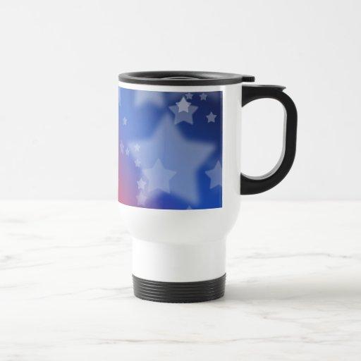 Patriotic Stars Coffee Mugs