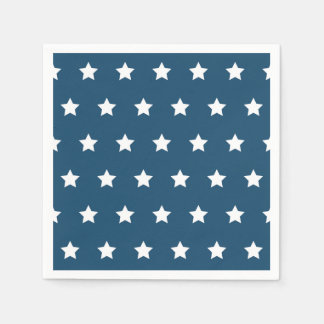 Patriotic Stars Napkins Paper Napkin