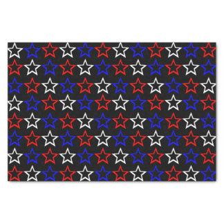 Patriotic Stars Pattern Tissue Paper