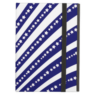 Patriotic Stars Stripes Freedom Flag 4th of July iPad Air Cover