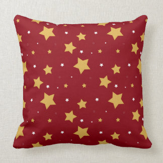 Patriotic Stars Throw Pillow