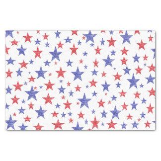 Patriotic Stars Tissue Paper