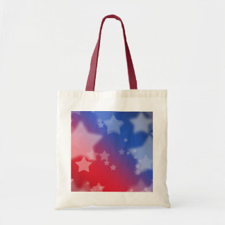 Patriotic Stars Tote Bag