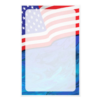 Patriotic Stationery #1