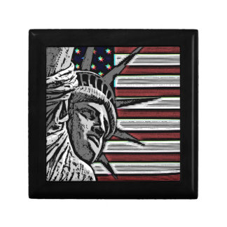Patriotic Statue of Liberty Gift Box