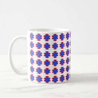 Patriotic Stripes and Polka Dots Coffee Mug
