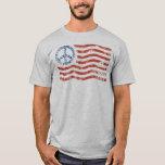 Patriotic T-Shirt (mens womens kids) Peace Flag