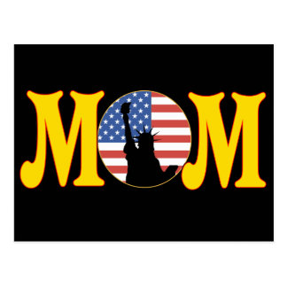 Patriotic T-shirts and Gifts For Mom Postcard