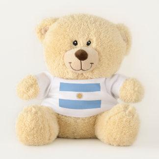 Patriotic Teddy Bear flag of Argentina