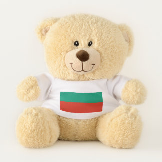 Patriotic Teddy Bear flag of Bulgaria