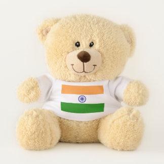Patriotic Teddy Bear flag of India