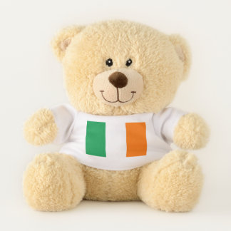 Patriotic Teddy Bear flag of Ireland