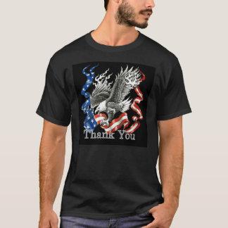 Patriotic Thank You Veterans Day T-Shirt
