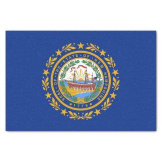 Patriotic tissue paper with flag New Hampshire