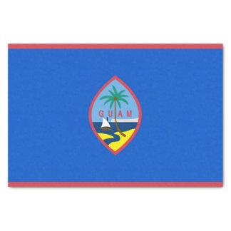 Patriotic tissue paper with flag of Guam