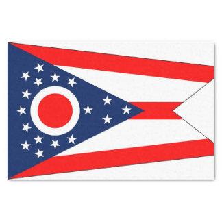 Patriotic tissue paper with flag Ohio