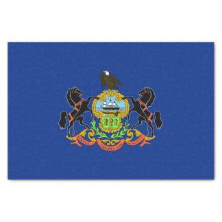 Patriotic tissue paper with flag Pennsylvania