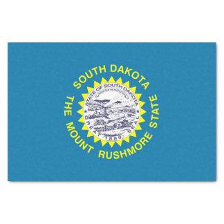 Patriotic tissue paper with flag South Dakota