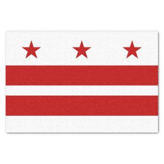 Patriotic tissue paper with flag Washington DC