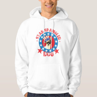 Patriotic Toy Fox Terrier Hoodie