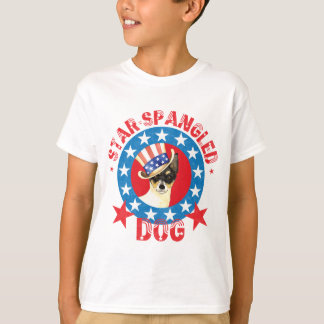 Patriotic Toy Fox Terrier T-Shirt