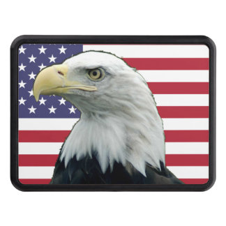 Patriotic Trailer Hitch Covers