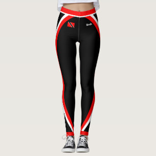 Patriotic Trinidad and Tobago Flag with Your Name Leggings