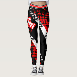 Patriotic Trinidad and Tobago Trini to the Bone Leggings
