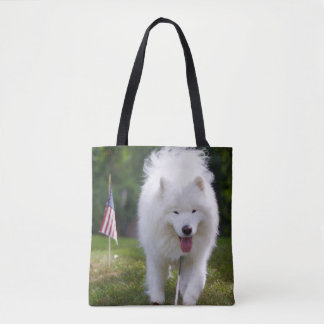 Patriotic Ty - All-Over Tote Bag