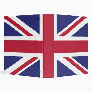 Patriotic United Kingdom Flag Binders