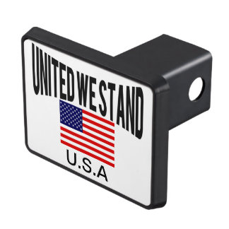 Patriotic United we stand Hitch Cover