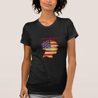 Patriotic US American Flag Military Helmet T-Shirt