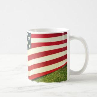 Patriotic US Flag Mug