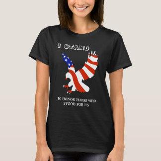 Patriotic USA Eagle I Stand T-Shirt