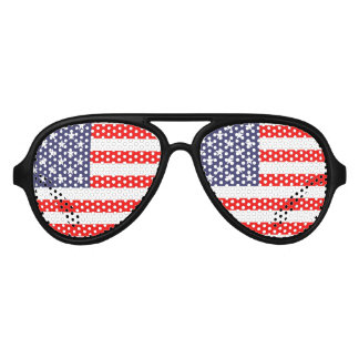Patriotic USA party glasses | American flag shades Party Sunglasses